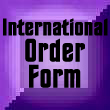 International Order Form